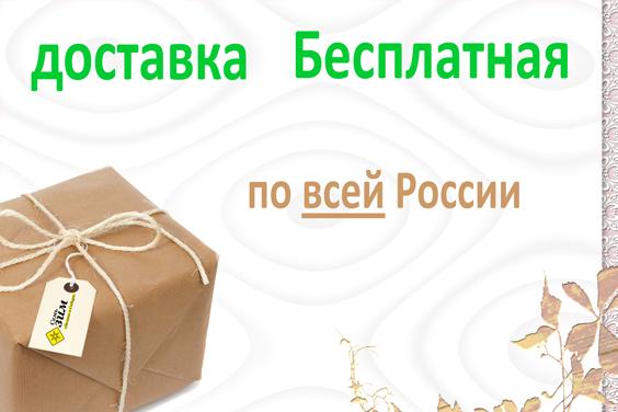 Бесплатная доставка по всей России