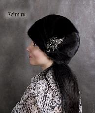 Как украсить норковую шапку своими руками 4
